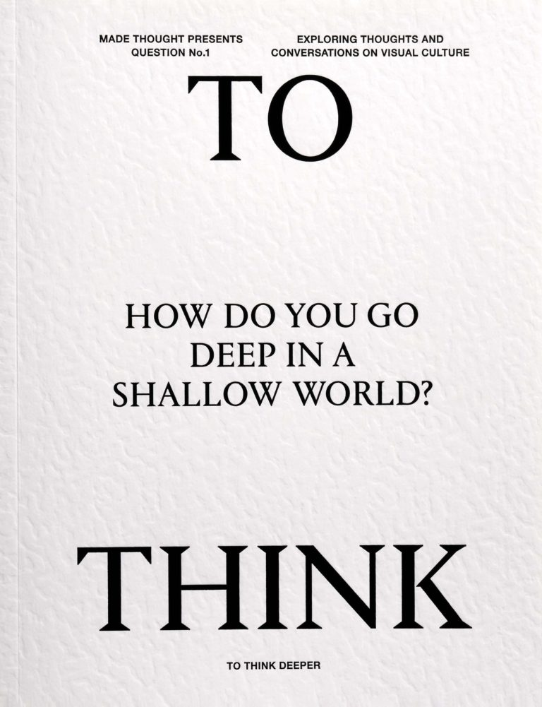 To Think Deeper